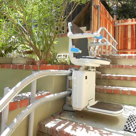 Handicare 2000 Treppenabsatz
