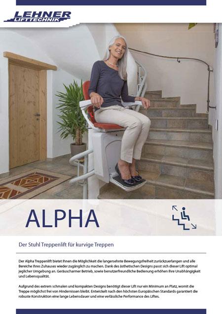 Prospekt Lehner Alpha