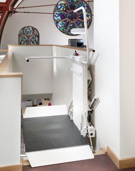 Plattform-Treppenlift Lehner Delta